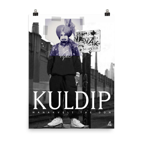 POSTER - KULDIP - MANAKVELI THE DON KILLUMINATI