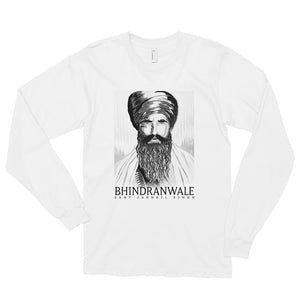 BHINDRANWALE - VYBE - WHITE LONG SLEEVE