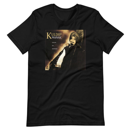 KULDIP MANAK WORLD VYBE - BLACK TEE