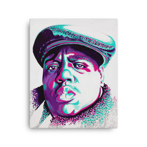 ART - BIGGIE SMALLS - CANVAS