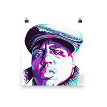 POSTER - BIGGIE SMALLS - FINE ART PAPER