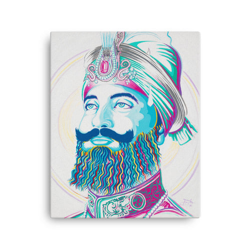 ART - SRI GURU GOBIND SINGH JI - CANVAS