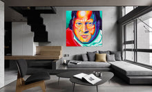 ART - NUSRAT FATEH ALI KHAN - CANVAS