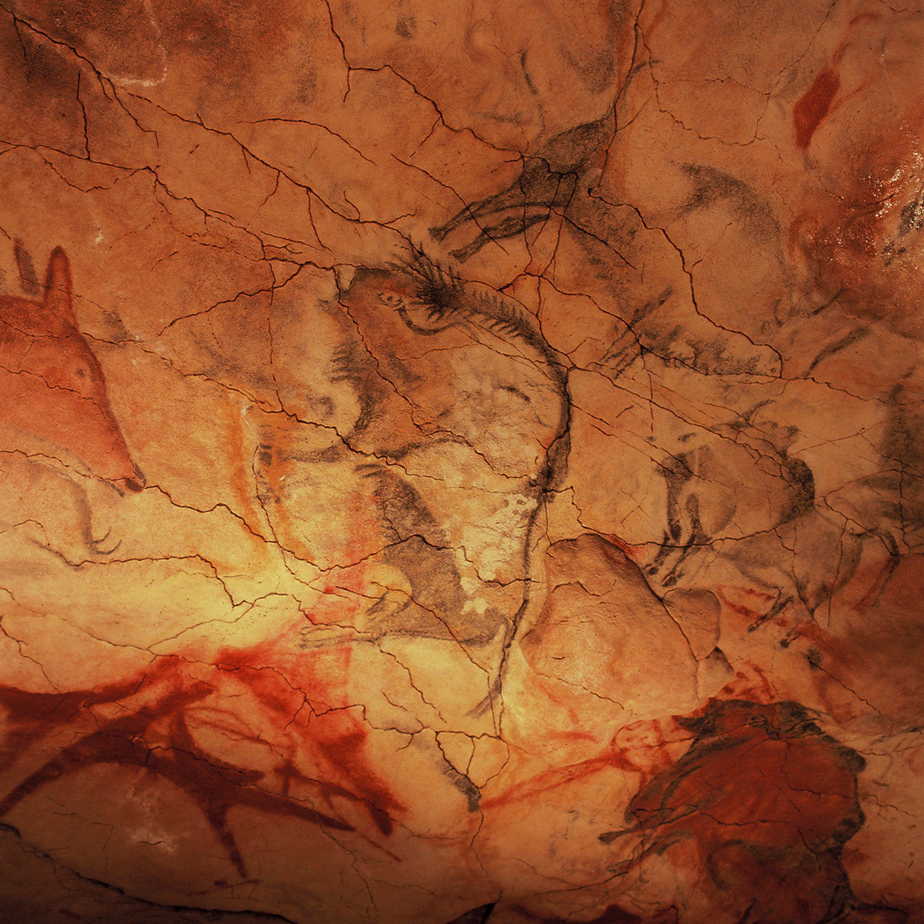Cave of Altamira and Paleolithic Cave Art of Northern Spain-110113