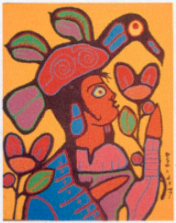 New work soon to Arrive: Norval Morrisseau