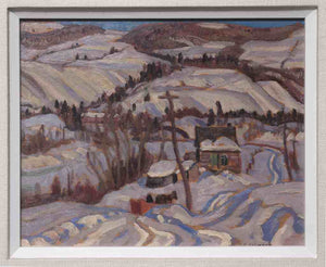 Winter, Charlevoix County, Quebec, Circa 1932