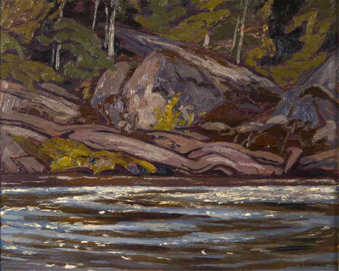 Rapids on the Madawaska