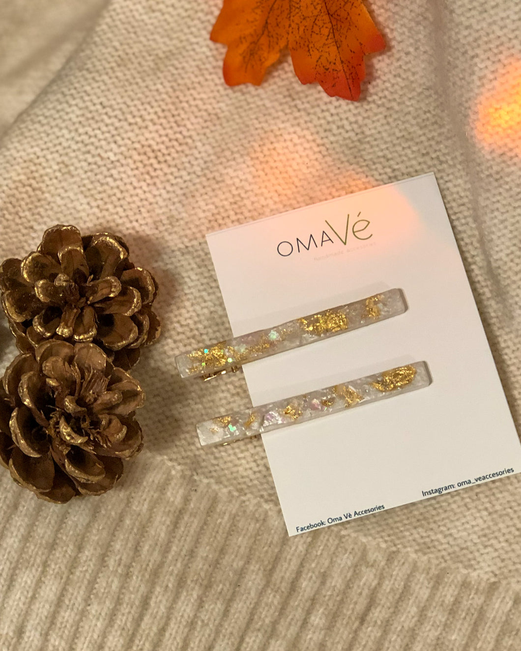 Quartz Hair pin set