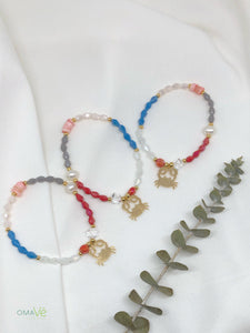 Tropical bracelets (cangrejo)