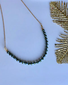 Midi crystals necklace
