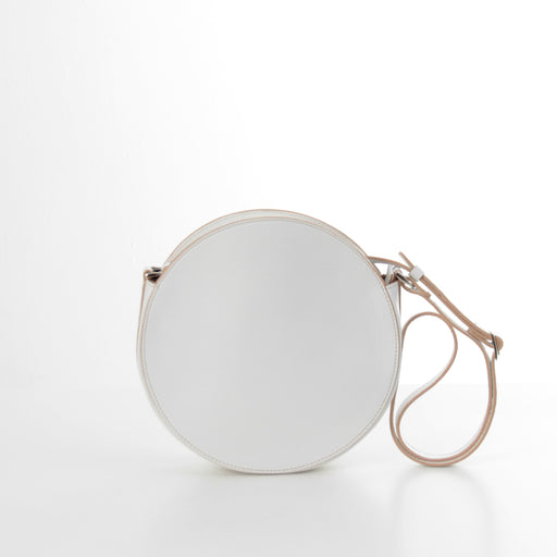 KARIKA mini - White circle crossbody bag - Bogabag