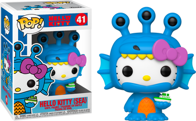 Funko Pop! Sanrio: Hello Kitty/ Kaiju - Hello Kitty (Sea)
