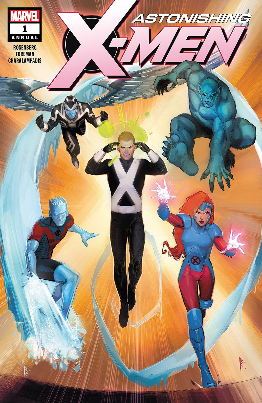 ASTONISHING X-MEN ANNUAL #1 (08/15/2018)