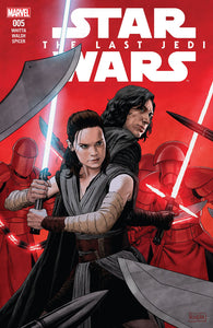 STAR WARS LAST JEDI ADAPTATION #5 (OF 6) (08/01/2018)