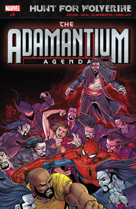 HUNT FOR WOLVERINE ADAMANTIUM AGENDA #3 (OF 4) (07/11/2018)