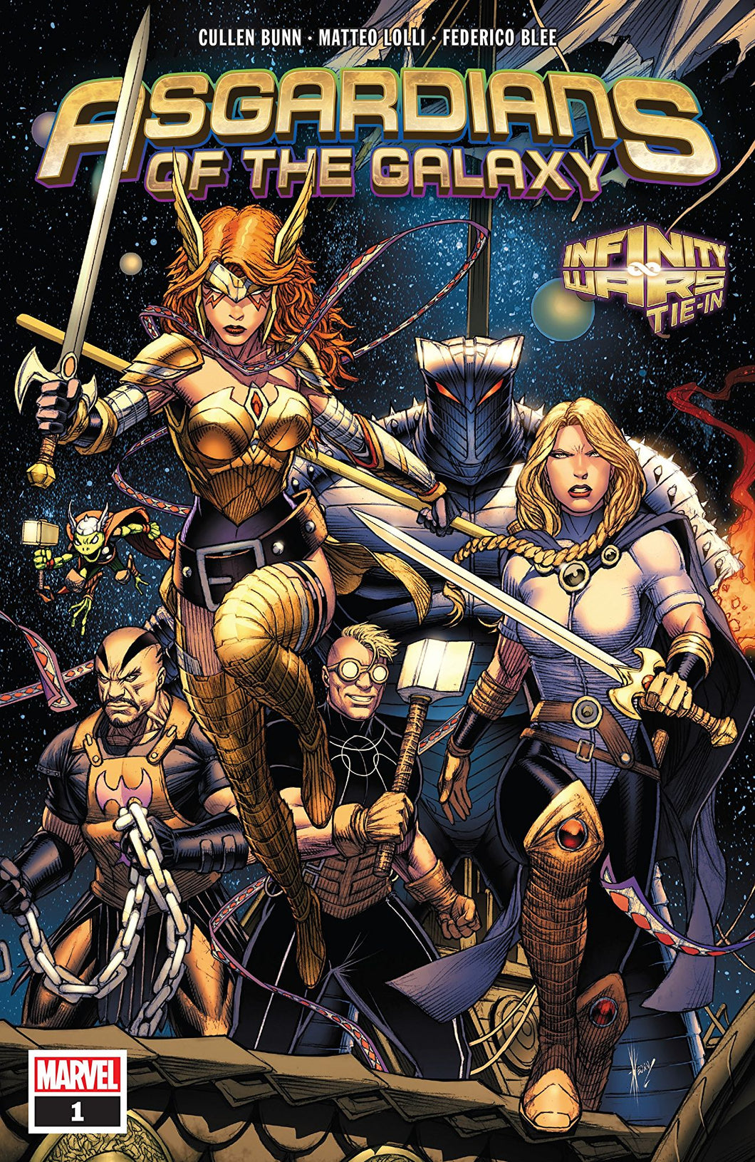 ASGARDIANS OF THE GALAXY #1 (09/05/2018)