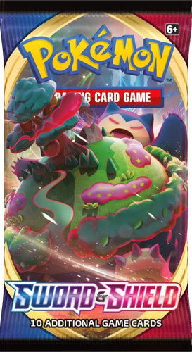 Pokemon: SS1 Sword & Shield Booster Pack