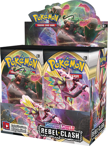 Pokemon: SS2 sword & Shield - Rebel Clash Booster Box