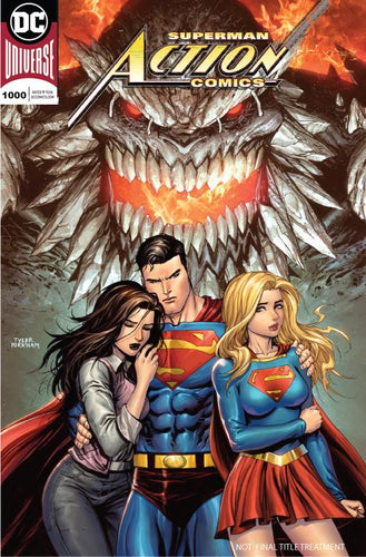 ACTION COMICS #1000 UNKNOWN COMICS TYLER KIRKHAM EXCLUSIVE