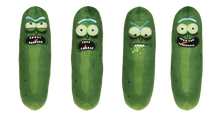 RICK & MORTY GALACTIC PICKLE RICK 7IN PLUSH