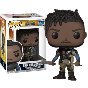 Funko POP! Marvel: Black Panther - Erik Killmonger