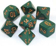 Chessex: Opaque 7-Die Set