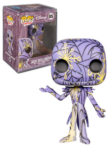 Funko POP! Disney: Nightmare Before Christmas - Jack (Art Series) w/ Case
