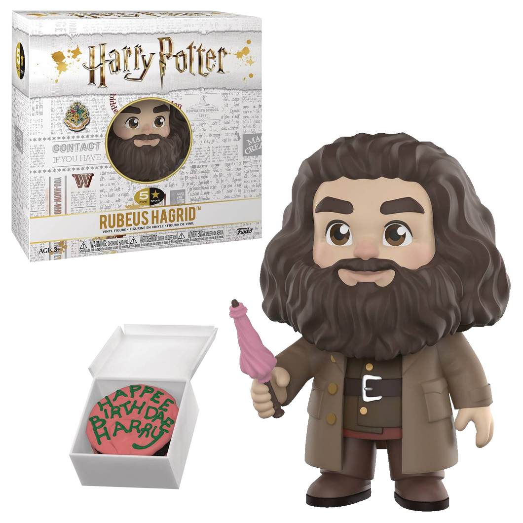 FUNKO 5 STAR HARRY POTTER HAGRID VINYL FIGURE
