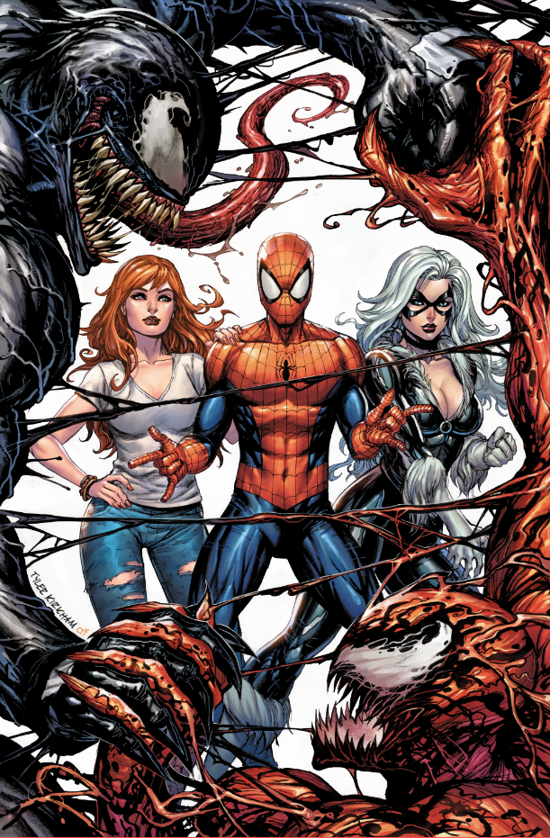 Peter Parker: The Spectacular Spider-Man #300 Tyler Kirkham VIRGIN Cover B