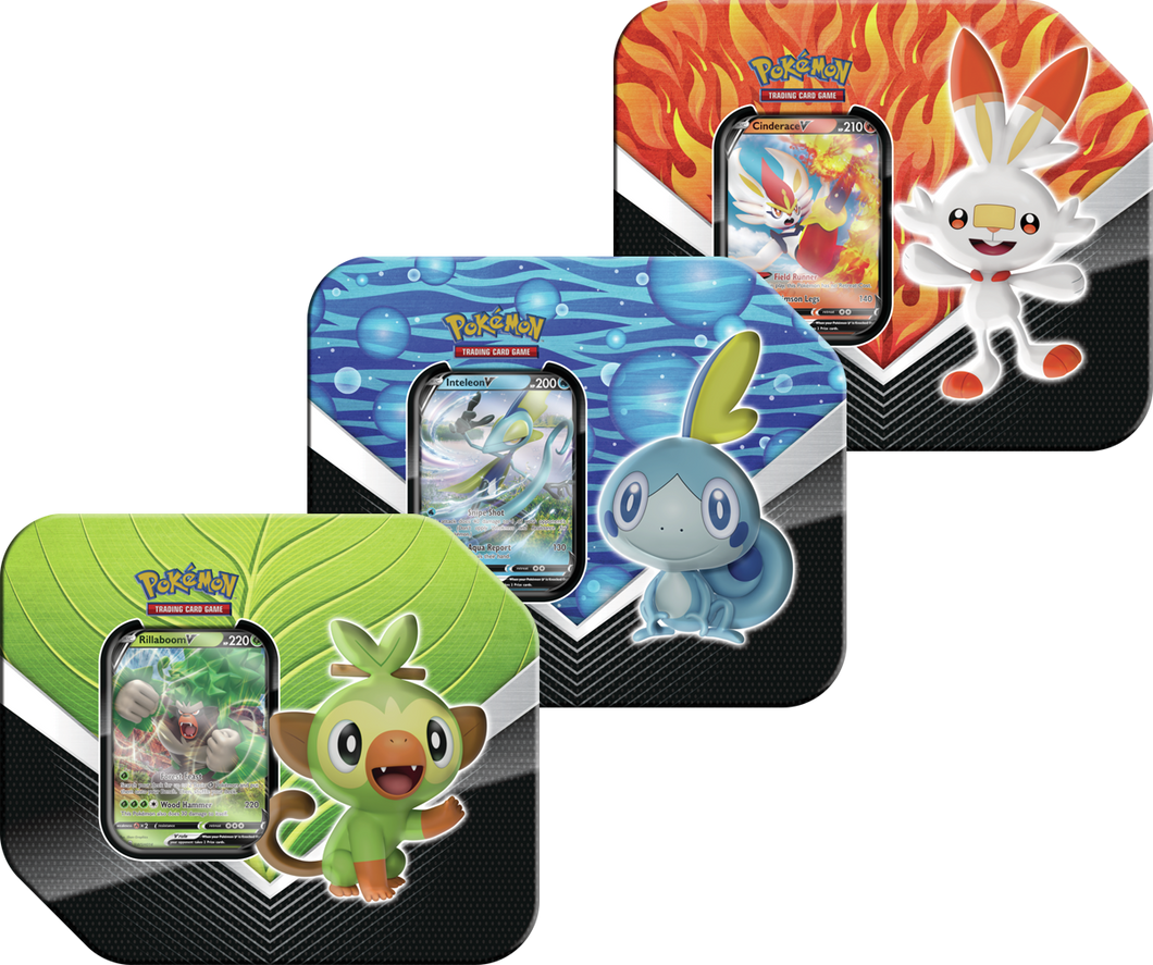 Pokemon: Spring 2020 Galar Partners Tin