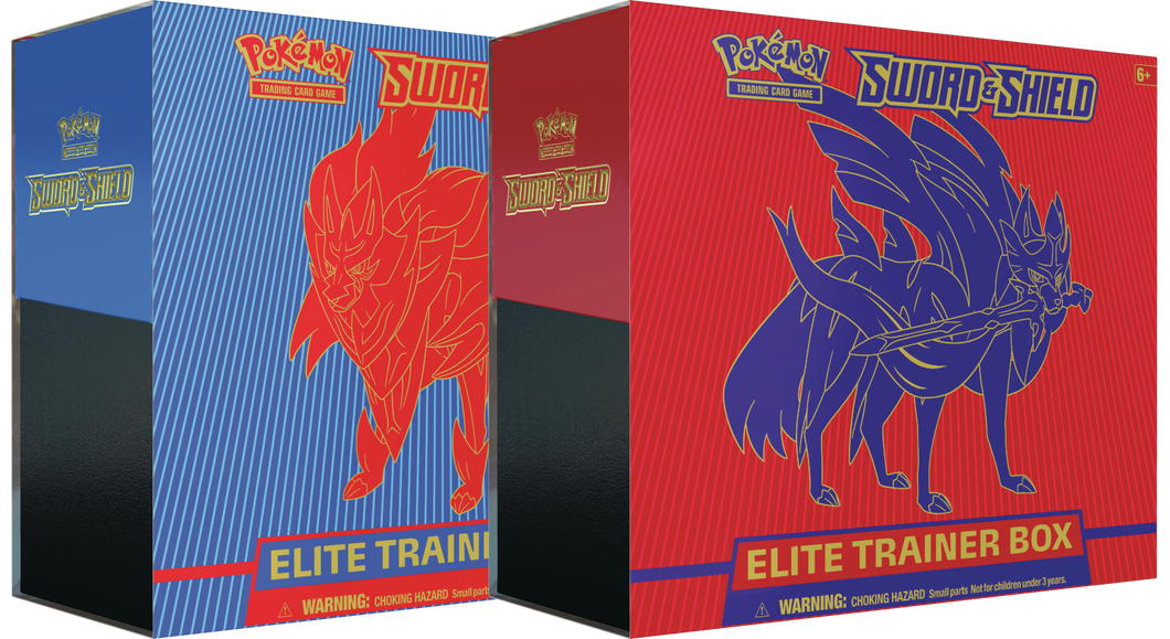 Pokemon: SS1 Sword & Shield Elite Trainer