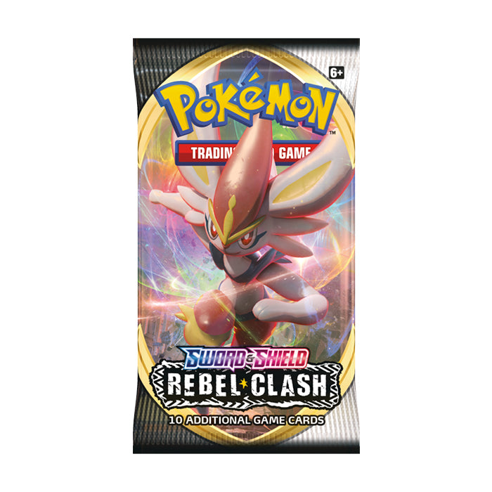 Pokemon: SS2 Sword & Shield - Rebel Clash Booster Pack