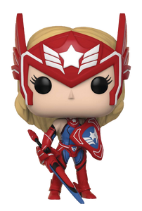 POP MARVEL FUTURE FIGHT SHARON ROGERS VINYL FIG