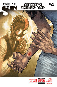 AMAZING SPIDER-MAN #4 (07/23/2014) FIRST SILK