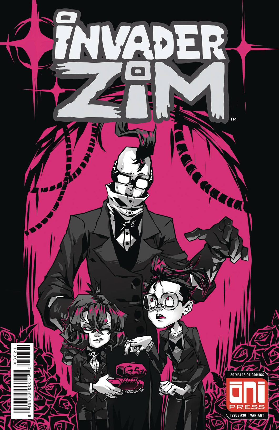 INVADER ZIM #30 CVR B KROOKED GLASSES VAR