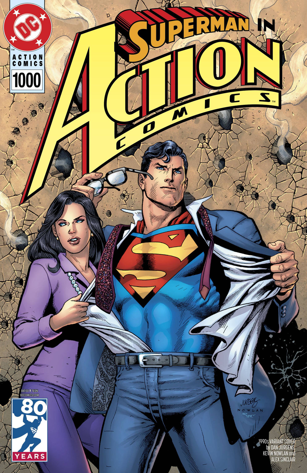 ACTION COMICS #1000 1990S VAR ED