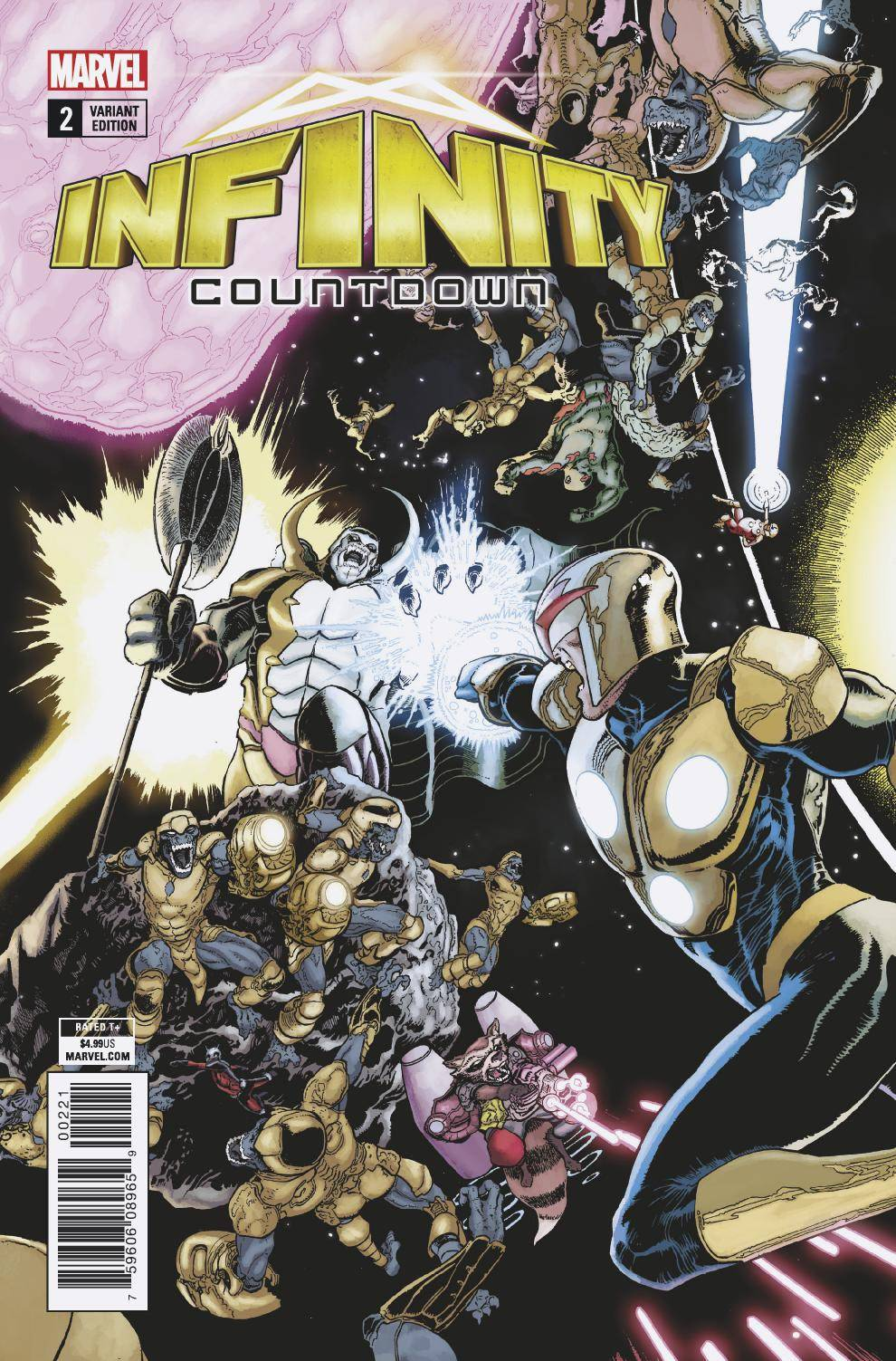 INFINITY COUNTDOWN #2 (OF 5) KUDER CONNECTING VAR LEG