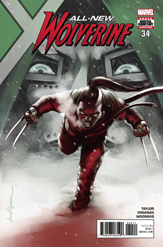 ALL NEW WOLVERINE #34 LEG (04/25/2018)