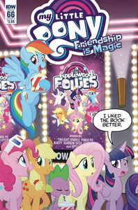 MY LITTLE PONY FRIENDSHIP IS MAGIC #66 CVR A FLEECS