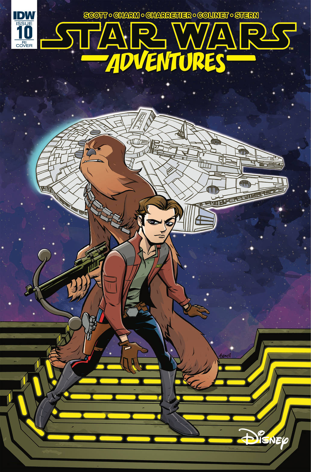 STAR WARS ADVENTURES #10 1:10 OEMING VAR
