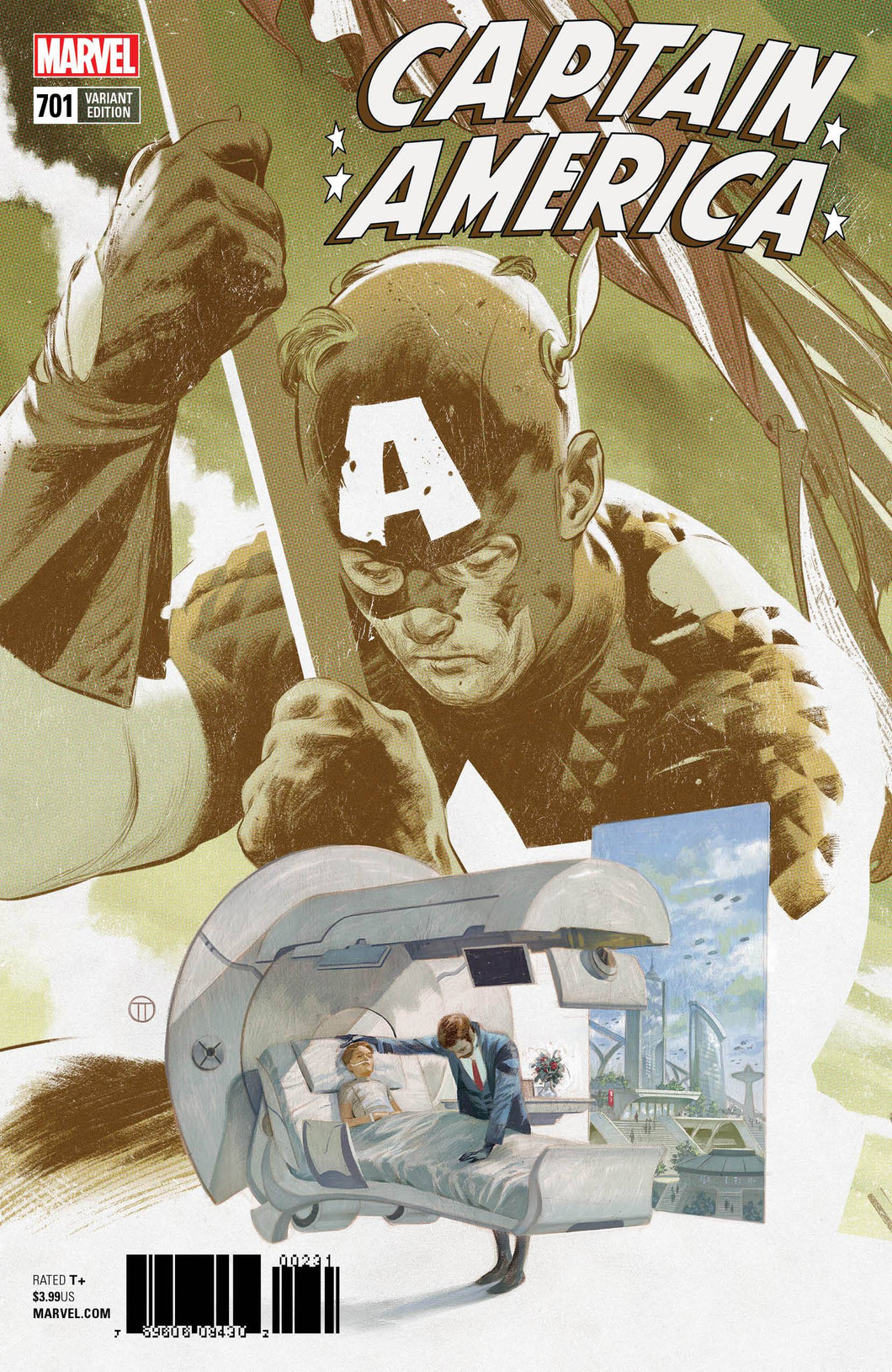 CAPTAIN AMERICA #701 TEDESCO CONNECTING VAR
