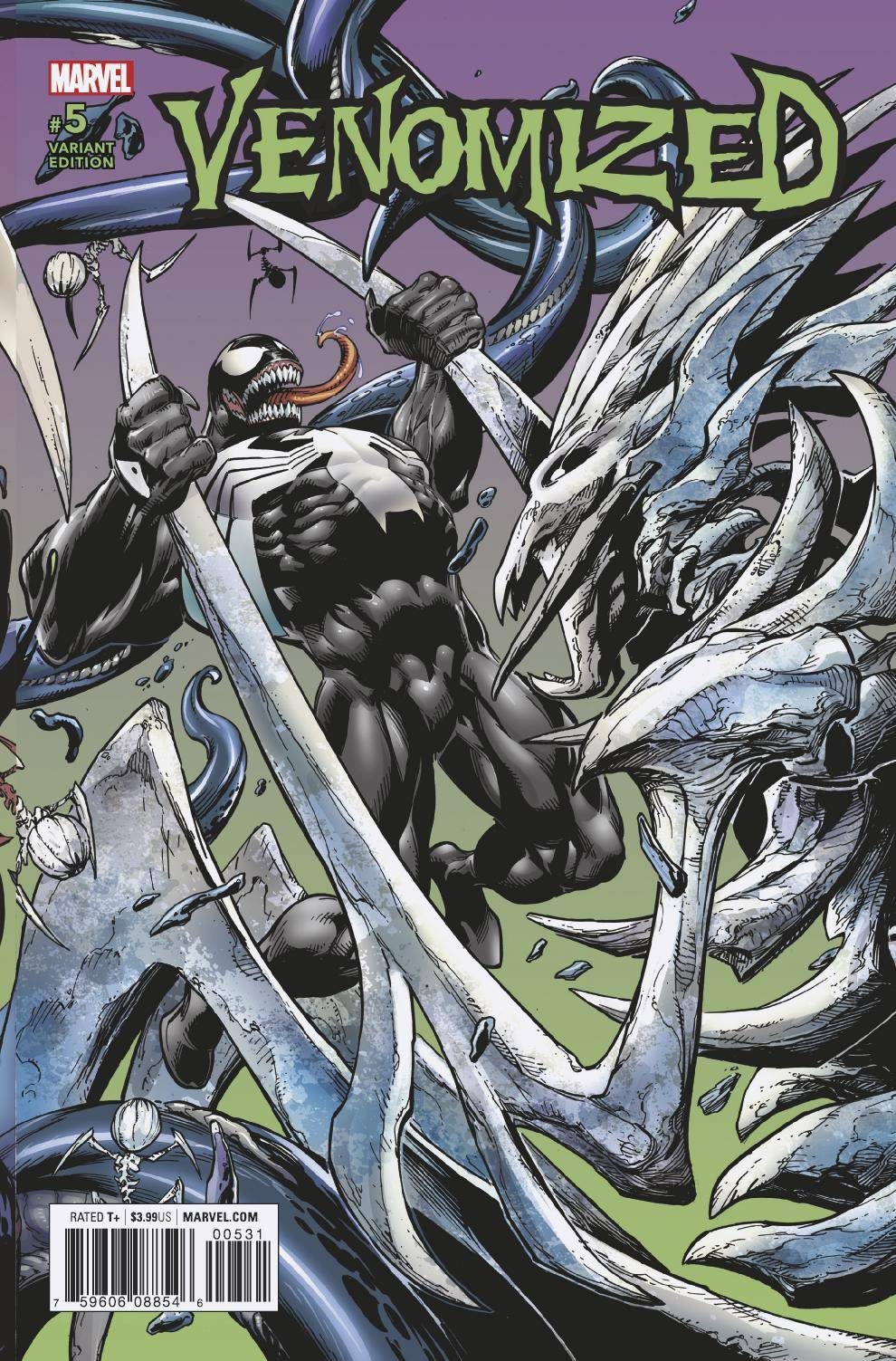 VENOMIZED #5 (OF 5) BAGLEY CONNECTING VAR