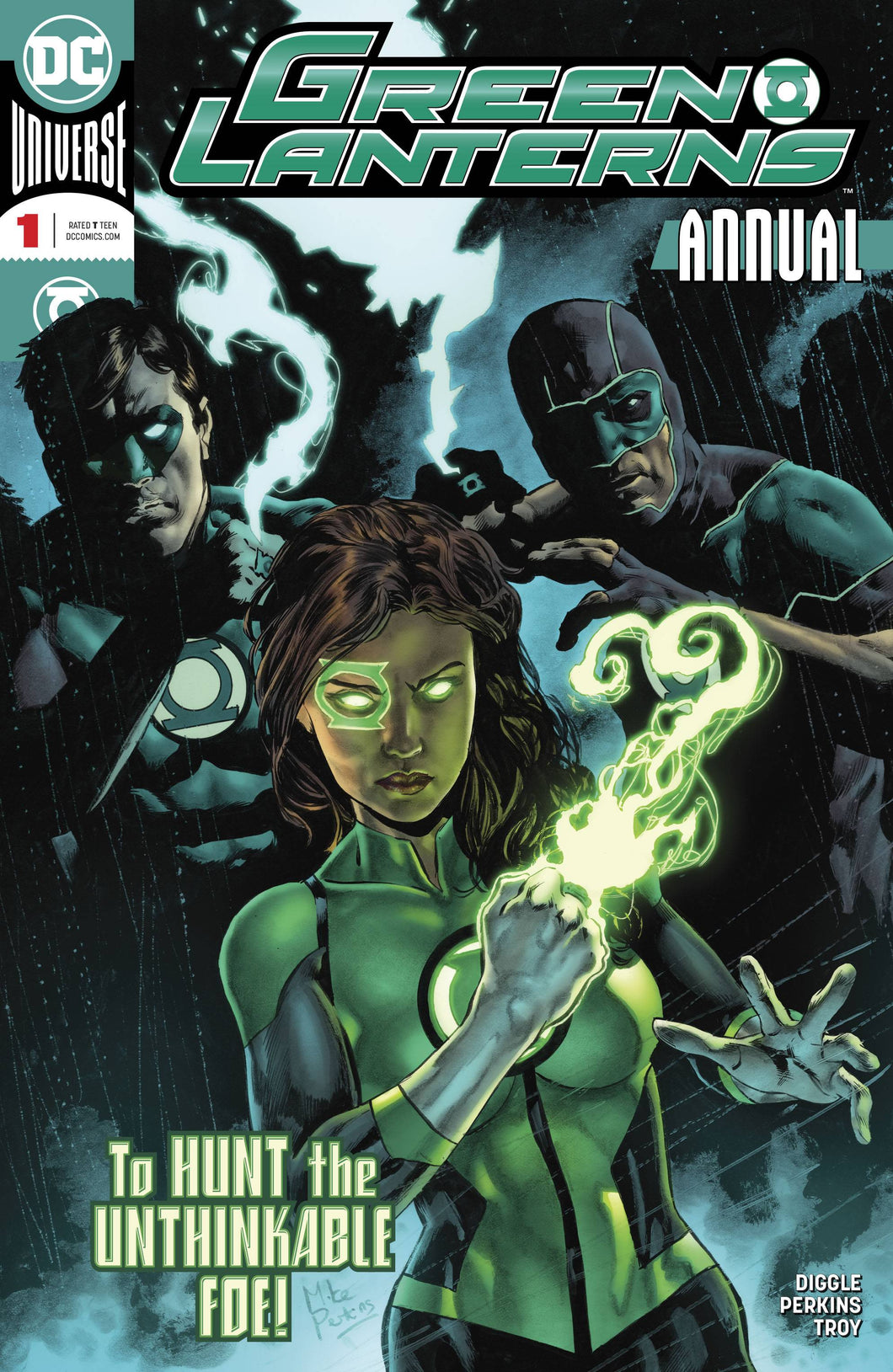 GREEN LANTERNS ANNUAL #1 (05/30/2018)