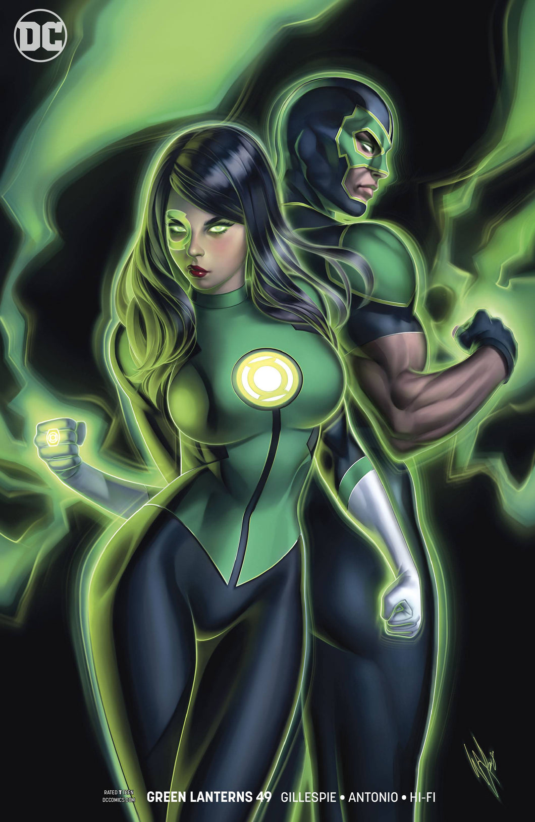 GREEN LANTERNS #49 VAR ED (06/20/2018)