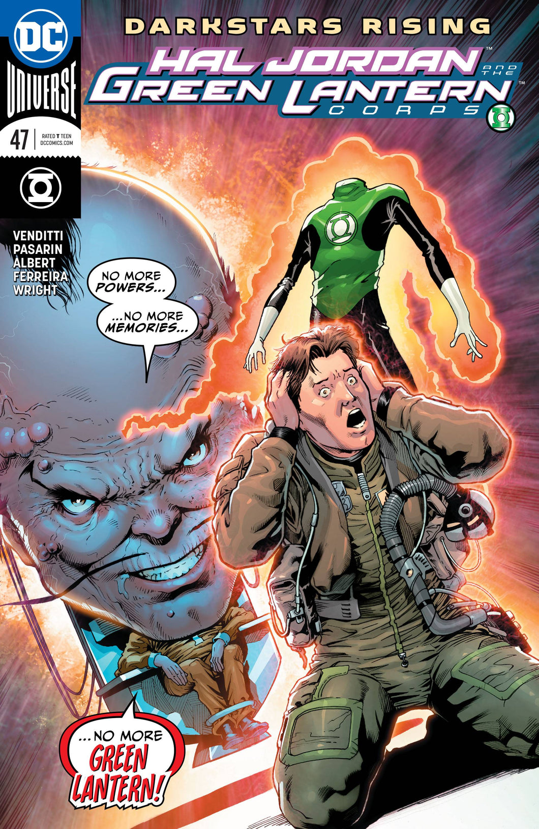 HAL JORDAN AND THE GREEN LANTERN CORPS #47 (06/27/2018)
