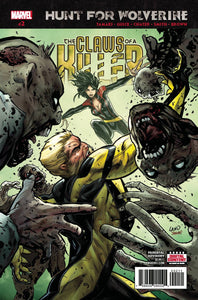 HUNT FOR WOLVERINE CLAWS OF KILLER #2 (OF 4) (06/20/2018)