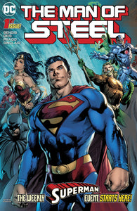 MAN OF STEEL #1 (OF 6) (05/30/2018)