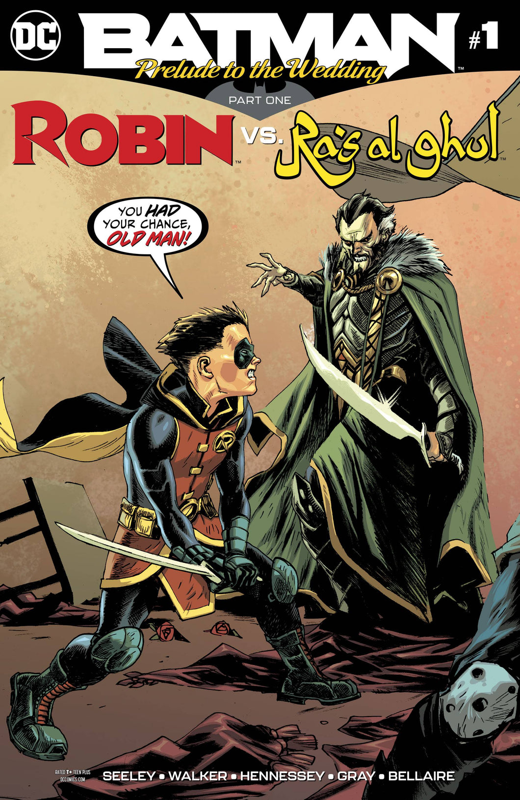 BATMAN PRELUDE TO THE WEDDING ROBIN VS RAS AL GHUL #1 (05/30/2018)