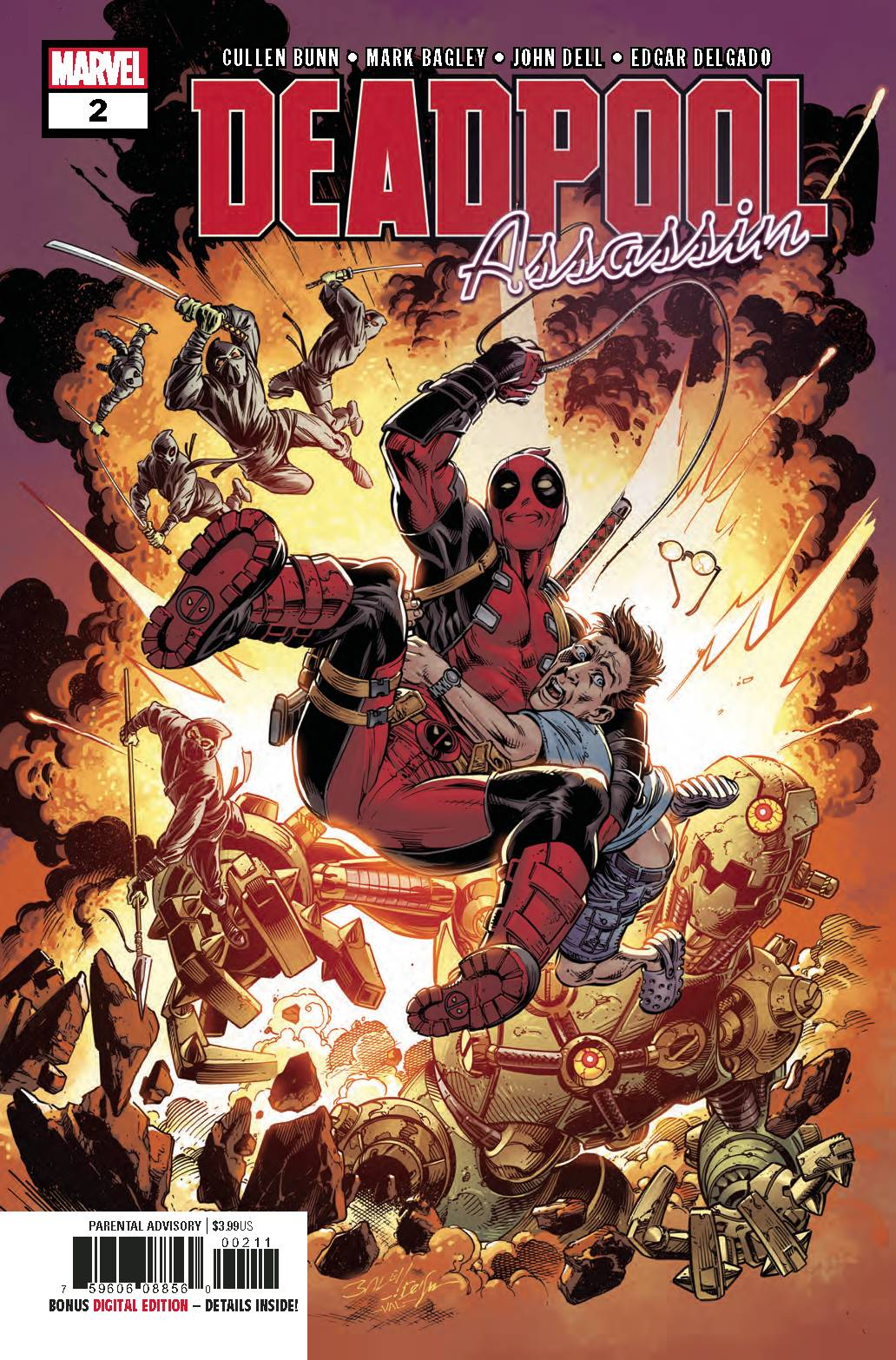 DEADPOOL ASSASSIN #2 (OF 6) (06/27/2018)
