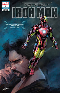 TONY STARK IRON MAN #1 FRACTION SALVA ARMOR VAR (06/20/2018)